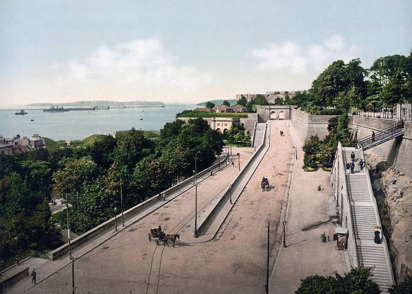 Cours Photograph - Brest - France - Harbor From The Cours Dajot by International  Images