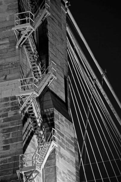 Photograph - Bricks And Cables by Russell Todd