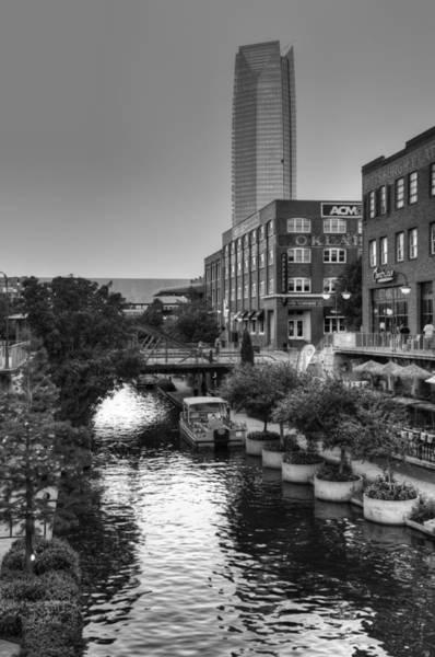 Okc Photograph - Bricktown Canal II by Ricky Barnard