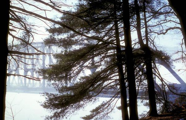 Photograph - Bridge In The Fog 2 by Mark Dodd