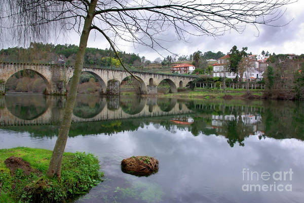 Village Creek Photograph - Bridge Over Lima River by Carlos Caetano