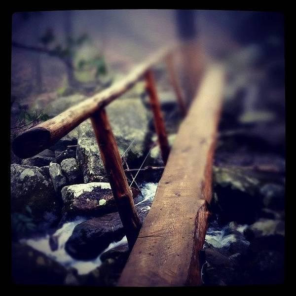 Eden Wall Art - Photograph - Bridge Over The Falls by Dave Edens