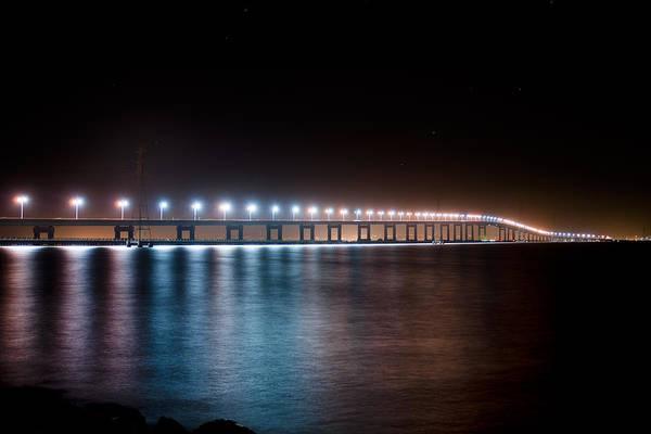 San Mateo Bridge Wall Art - Photograph - Bridge Over Troubled Waters by Jeremy Bartlett