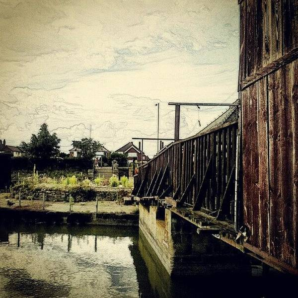 Norfolk Photograph - Bridge Over Troubled Waters #water by Invisible Man