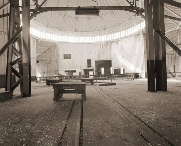 Roundhouse Photograph - Bridge Shop by Jan W Faul