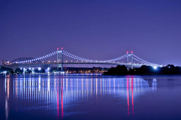 Tri-borough Bridge In Nyc Art Print