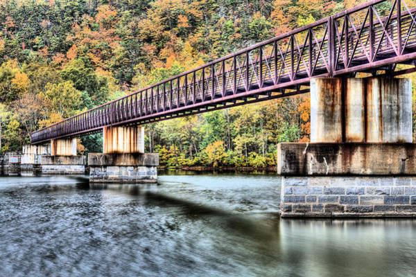 Photograph - Bridging The James by JC Findley
