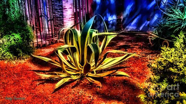 Digital Art - Brilliant Foliage by Kathy Tarochione