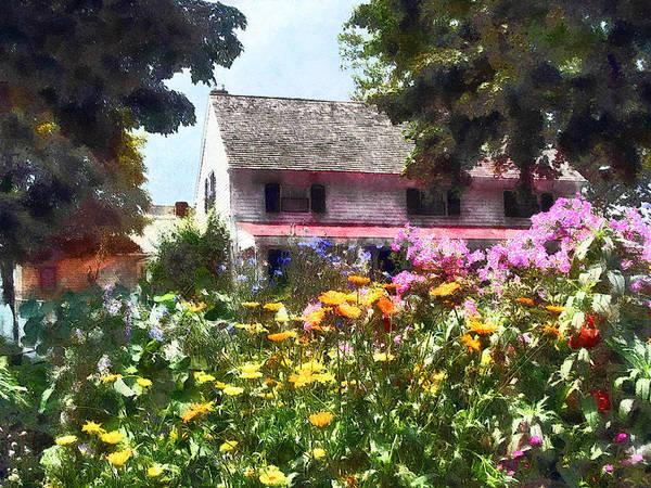 Photograph - Brilliant Summer Garden by Susan Savad