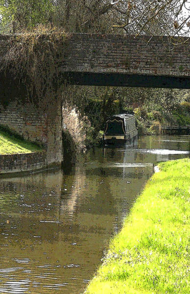 Wall Art - Photograph - British Canal by Mindy Newman