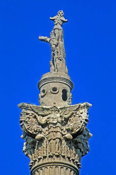 Photograph - Brocks Monument 2 by Cyryn Fyrcyd