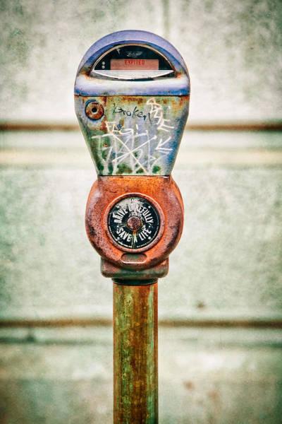 Wall Art - Photograph - Broken Meter by Stacey Granger
