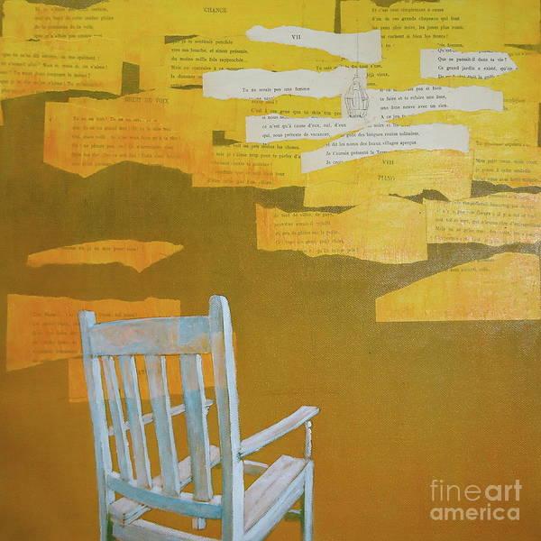 Chair Mixed Media - Broken by Paul OBrien
