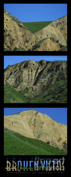 Photograph - Broken Vistas California Photograph by Kristen Fox
