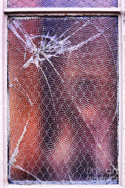 Broken Windows Photograph - Broken Window by HD Connelly