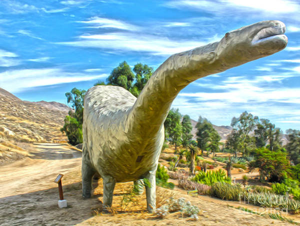 Painting - Brontosaurus by Gregory Dyer