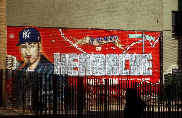 Photograph - Bronx Graffiti. Headache - 2 by RicardMN Photography