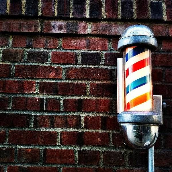 Shop Wall Art - Photograph - Brooklyn Barber Shop.  by Luke Kingma