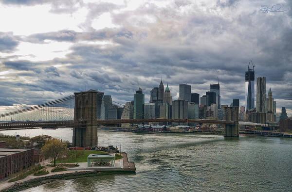 Photograph - Brooklyn Bridge Carousel by S Paul Sahm