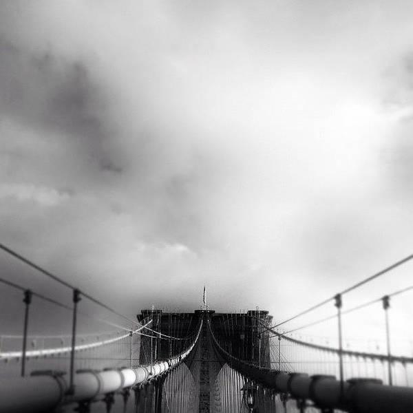 Newyork Wall Art - Photograph - #brooklyn #bridge #newyorker #newyork by Joel Lopez