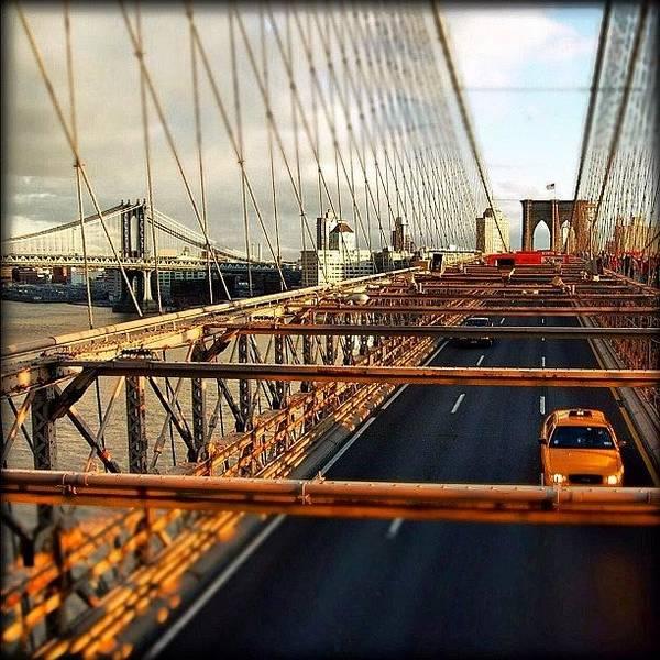 Newyork Wall Art - Photograph - #brooklyn #manhattan #bridge #newyorker by Joel Lopez