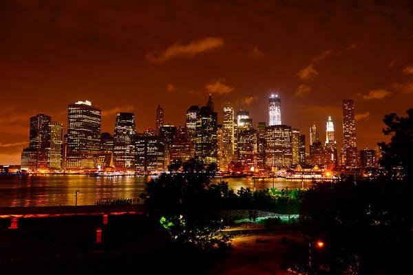 Photograph - Brooklyn Promenade View Of Manhattan by Greg Norrell