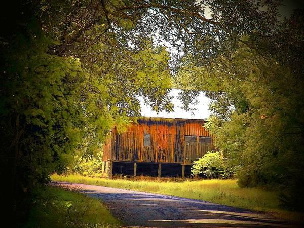 Frederick County Wall Art - Photograph - Brown Barn by Joyce Kimble Smith