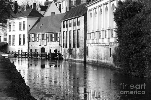 Wall Art - Photograph - Bruges Canal Scene IIi by John Rizzuto