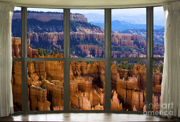 Photograph - Bryce Canyon Bay Window View by James BO Insogna