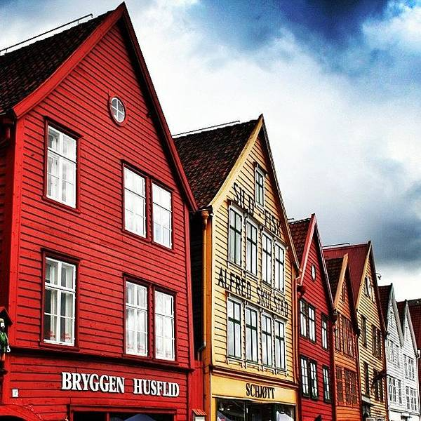 Wall Art - Photograph - Bryggen - Bergen by Luisa Azzolini