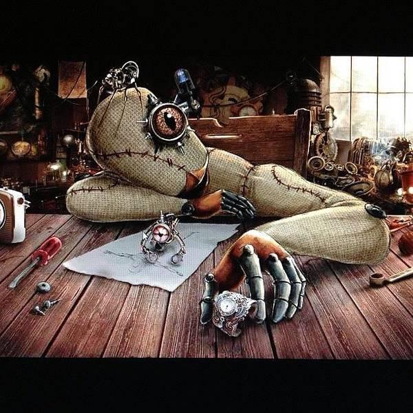 Steampunk Wall Art - Photograph - Bu Gece Aldiim Bir Haberle Yuzum by Ilker Yuksel