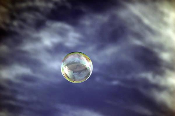 Photograph - Bubble Self Portrait by Dan McManus