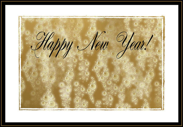 Photograph - Bubbly New Year by Kristin Elmquist