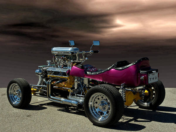 Four Wheeler Photograph - Bucket T 4 2 Up by Tim McCullough