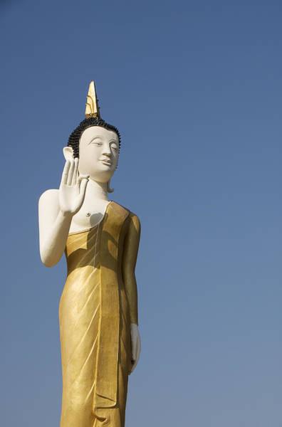 Wall Art - Photograph - Buddha And Blue Sky by Gloria & Richard Maschmeyer