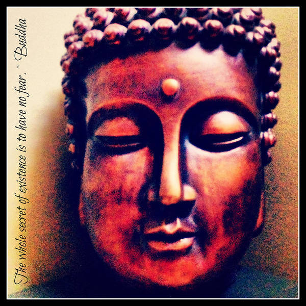 Photograph - Buddha Have No Fear by Lora Mercado