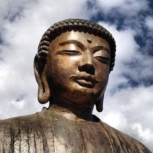 Cloud Photograph - Buddha In The Sky by Darice Machel McGuire