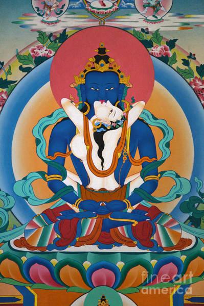 Wall Art - Photograph - Buddha In Yabyum - Nepal by Craig Lovell
