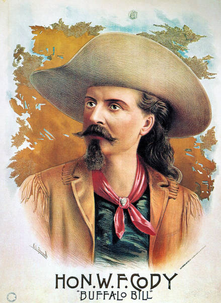 Photograph - Buffalo Bill Cody, C1888 by Granger