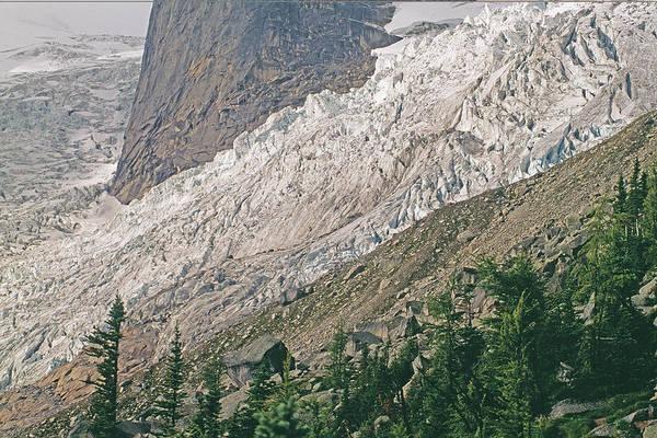 Bugaboo Photograph - Bugaboo Glacier Flows Around The Hounds by Gordon Wiltsie