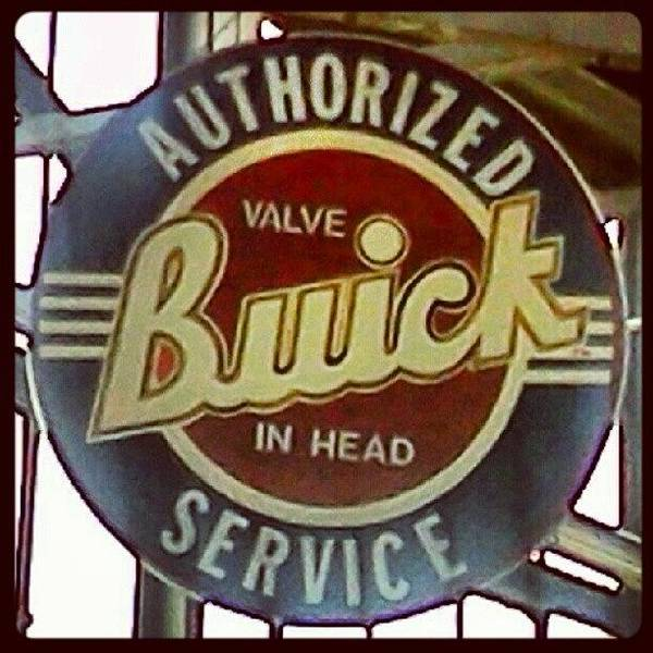 Automotive Photograph - Buick Sign by Stacy C Bottoms