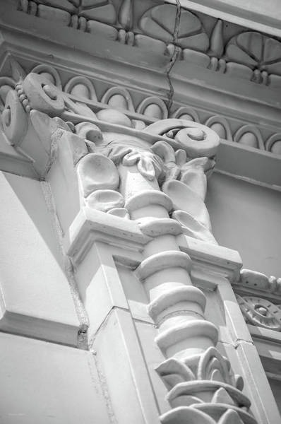 Photograph - Building Detail - Washington Dc by Frank Mari