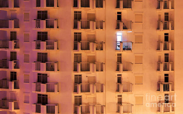 Housing Development Photograph - Building Facade by Carlos Caetano