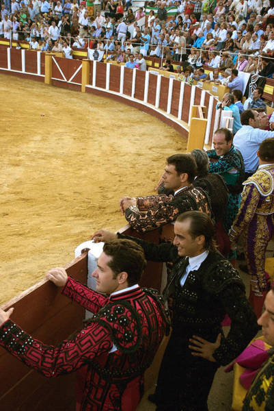 Toreador Photograph - Bull Ring Arena With Toreadors by Perry Van Munster