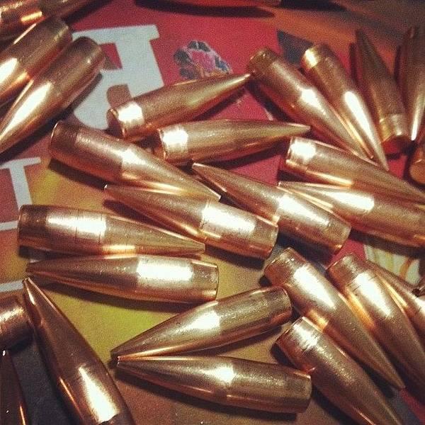 Rifles Photograph - #bullets #ammo #rifle by Rhiannon G-h