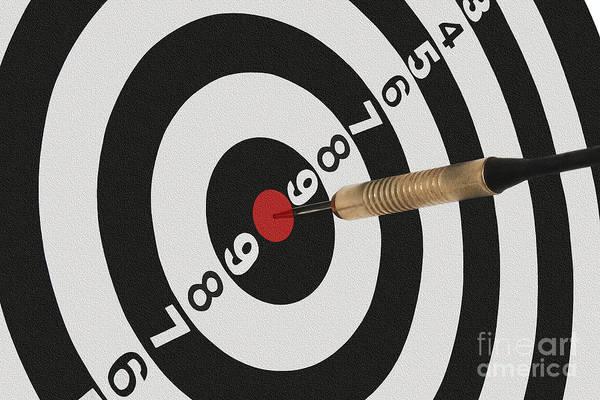 Target Photograph - Bullseye by Dan Holm