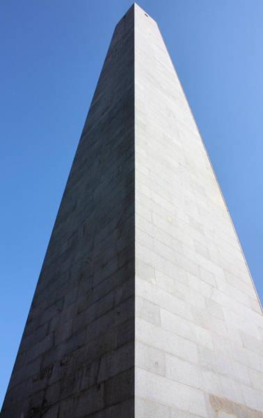 Photograph - Bunker Hill Monument by Kristin Elmquist