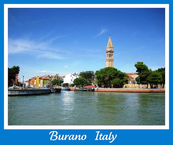 Photograph - Burano Island   Italy by John Shiron