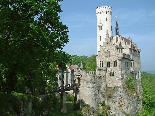 Burg Lichtenstein Art Print