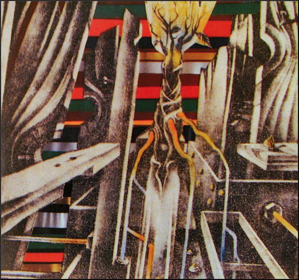 Drawing - Burning Bush2 1982 by Glenn Bautista